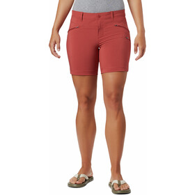 Columbia Peak to Point Pantalones cortos Mujer, dusty crimson